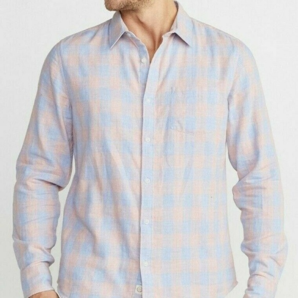 Marine Layer Other - Marine Layer Upland Button Down Plaid Shirt